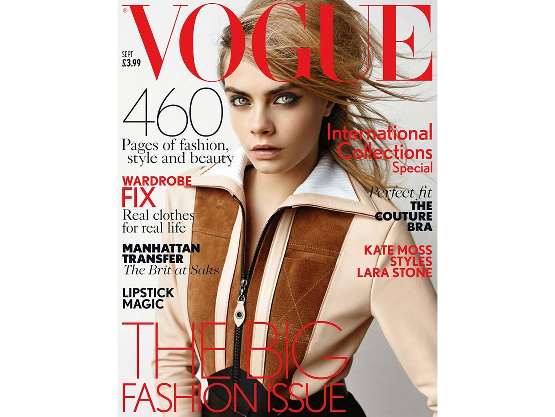 Vogue UK magazine cover