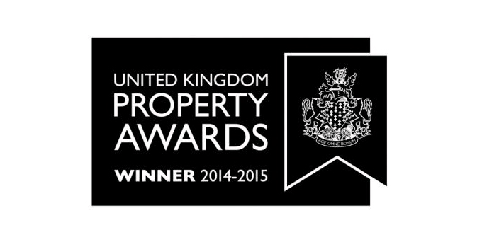 UK Property Awards Winner 2014-2015 banner