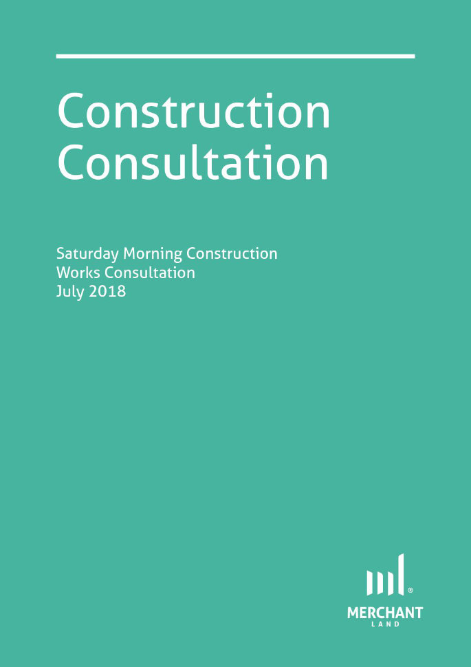 Construction Consultation July 2018 cover