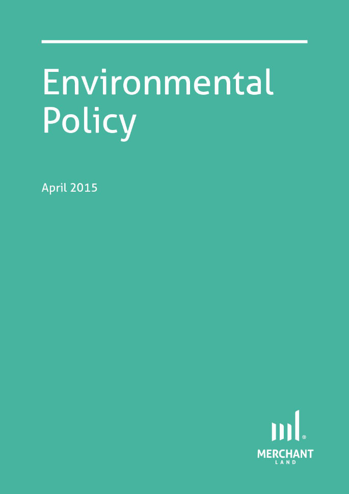 Environmental Policy April 2015 cover