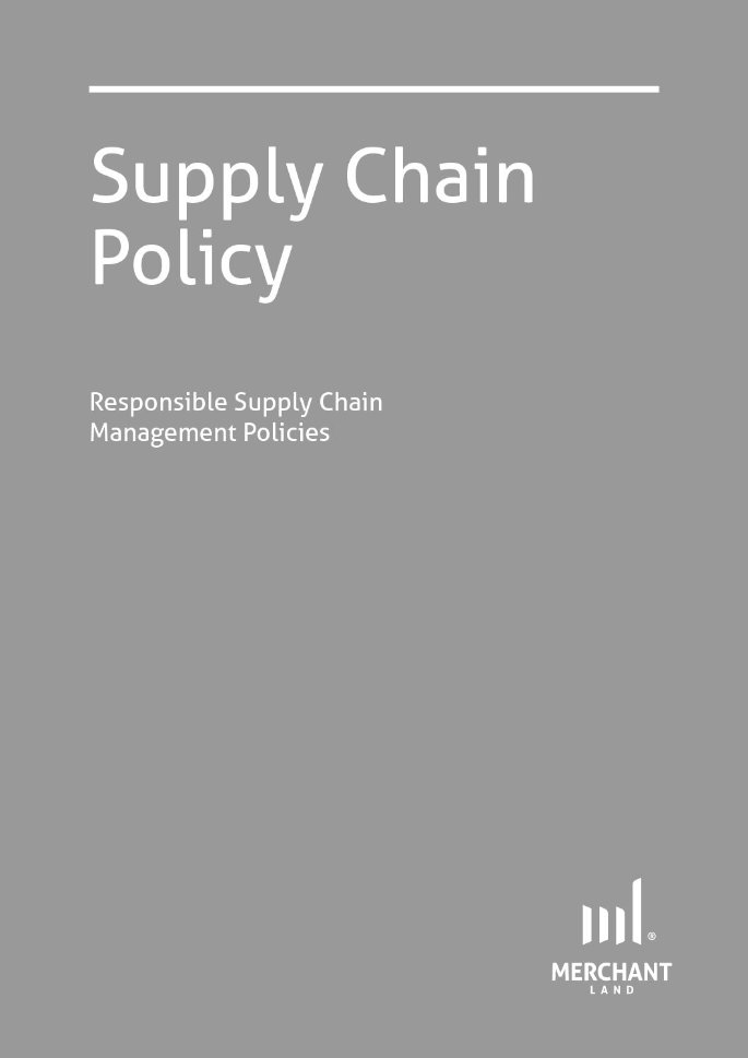Responsible Supply Chain Management Policies cover
