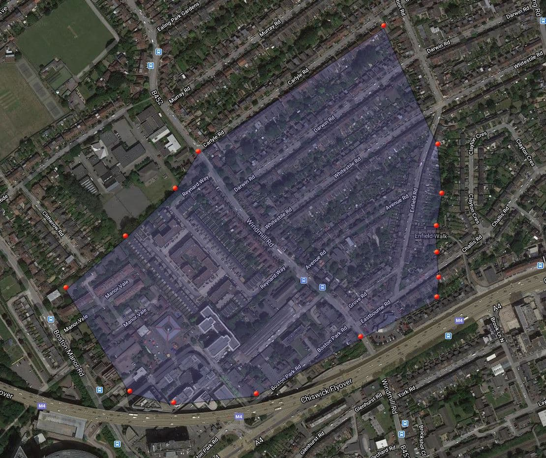 Windmill Lane Consultation Map