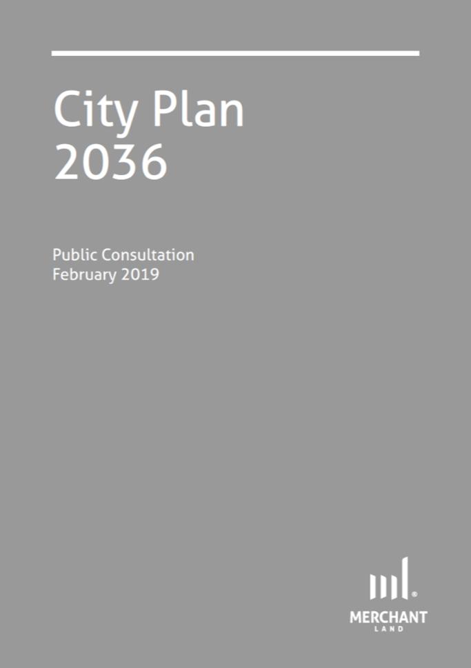 City Plan 2036, Public Consultation cover